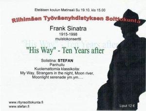 Frank Sinatra - konserttiFrank Sinatra - konsertti